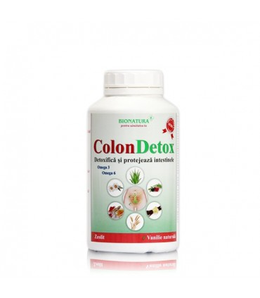 Colon Detox - Site oficial Dr Catalin Luca